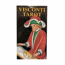 Visconti Sforza Tarot 78 Cards Pocket Sized Deck Multilingual Instructions
