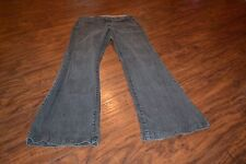 I7- Ashley Judd Flare Leg Jeans Size 6 Average