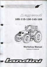 Tracteurs LANDINI LEGEND 105 115 130 145 165 atelier service manuel de formation