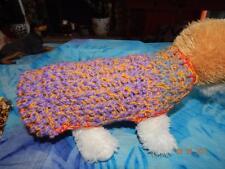 Mixed BERRY Swirl PUPPY DOG SWEATER XS