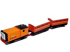PLARAIL Thomas & FRIENDS TRACKMASTER T-26 Rusty TRAIN WITH 2 PASSENGERS CAR'S