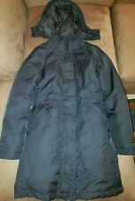 The North Face Women's Dryvent DOWN PARKA Black Arctic Size SM