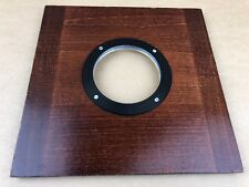 Burke & James Wooden Lens Board Very Large 9x9 Inches Size - Clean