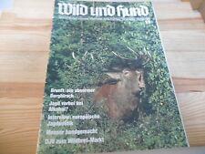 Sach Wild und Hund - #13 / 28.9.1986 / 89. Jahrgang (100 pg/ GB) VLG PAUL PAREY