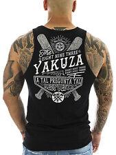 Ärmellose Yakuza Herren-T-Shirts