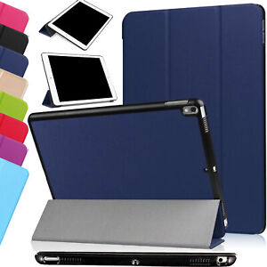 Slim Folding Book Leather Stand Case Cover For Apple iPad Mini 4 5 Air 4 Pro 11