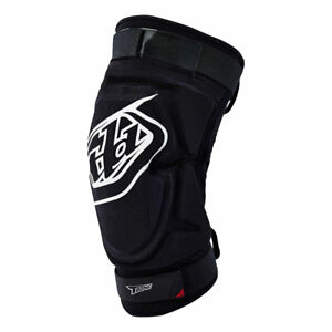 Troy Lee Designs New T-Bone Knee Guards (Pair) Black Adult All Sizes
