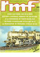 RMF N°229 140-A NORD/KIT-TEST : AUTORAIL RENAULT VH DE KEYSER/POSTE AIGUILLAGE