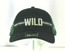 NHL Minnesota Wild Black/Green  Baseball Cap Snapback
