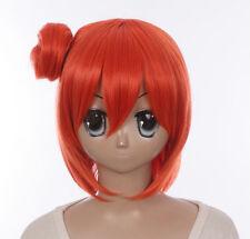 W-561 My Teen romantic comedy Snafu Yui Yuigahama Orange cosplay peluca wig