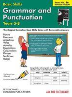 Grammar & Punctuation Level 2 Yrs 5 - 8