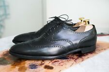 Crockett and Jones Handgrade Black Brogue Peal Co US 9.5 UK 9 EU 43