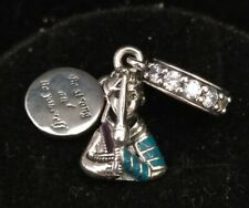 Pandora Charm​ Bead​ 798637C01​ Disney Mulan Dangle S925 ALE