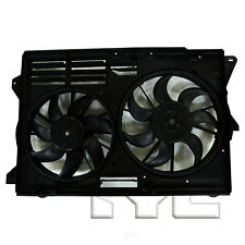 Dual Radiator and Condenser Fan Assembly TYC 623570 fits 13-19 Ford Explorer