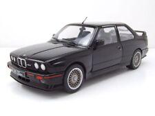 BMW M3 E30 EVO Sport 1990 noir modèle de voiture 1:18 SOLIDO