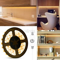 Touch Control USB LED Strip Light 2835 SMD For Kitchen Makeup Mirror Dimmable W