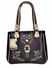 Montana West Dual Sided Concealed Carry American Bling Handbag