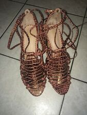 Anthropologie Miss Albright Camille Heels NWOB Size 9