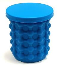 Ice Genie Deluxe Ice Cube Maker Tray 180 Cube Capacity Silicone Tongs Included