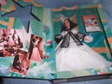 1994 Barbie as Scarlett O'Hara- Black & White Dress #13254