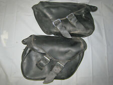 Harley-Davidson Leather Saddlebags Softail Fat Boy '00-'17 Leather Saddlebags