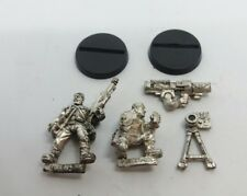 WARHAMMER 40K IMPERIAL GUARD catachan missile launcher team