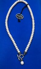 Honora Toggle Clasp Pearl Necklace