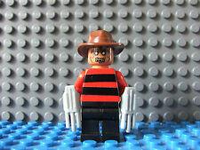 Lego Freddie Cruger Custom Minifigure Mini Figure Fig Nightmare on Elm Street