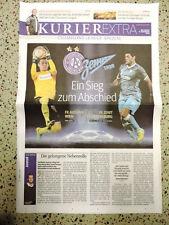 Official Programme AUSTRIA WIEN - ZENIT ST PETERSBURG Champions League 11.12.13