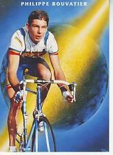CYCLISME carte PHILIPPE BOUVATIER  (equipe CASTORAMA ) 1992