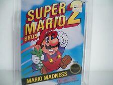 D0500963 SUPER MARIO 2 VGA 80+ CIB NES NINTENDO 100% COMPLETE SMB 2 NINTENDO