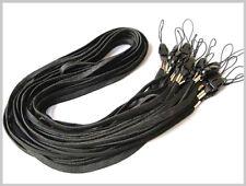 Lot of 100 Lanyard ID Badge Neck Strap Holder Black H185