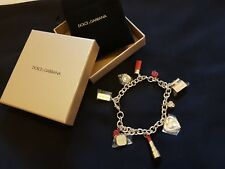BNB Dolce & Gabbana Bangle Charm Bracelete Genuine Christmas Gift Party