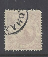 JAPAN  1875 12s. PIED WAGTAIL  USED   SG  62