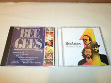 Tested Lot 2 Bee Gees CD Number Ones Best Of Greatest Hits & Story Pub TV France