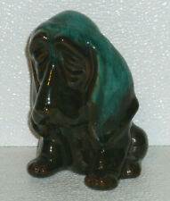 Blue Mountain Pottery Hound Coin Bank Vtg Canada 5.5""