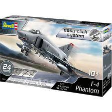 Revell 03651 F-4 Phantom Military Plane Easy-Click System Model Kit Scale 1/72