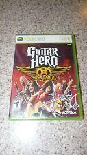 X Box 360 Guitar Hero: Aerosmith   *Brand New Sealed*
