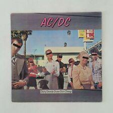 AC/DC Dirty Deeds Done Dirt Cheap SD16033 LP Vinyl VG++ Cover VG+ near ++