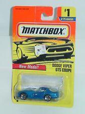 MATCHBOX 1997 #1 DODGE VIPER GTS COUPE