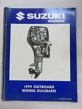 1999 Suzuki Marine Outboard Wiring Diagrams Service Manual 99954-53990