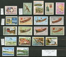 Weeda Mozambique 406//C34, MNH 1960-1963 issues CV $9.95