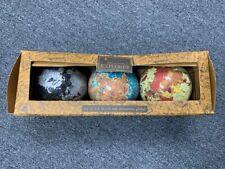 Set of 3 Decorative Globes