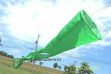 Kite Windsock, Green: Accessory,Family,Outdoor,Beach,Toy,Gift,Wind/Air Indicator