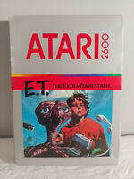 E.T. ET Atari 2600 The Extra-Terrestrial ET - SEALED/NEW 1982 VINTAGE GAME