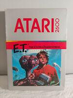 E.T. ET Atari 2600 The Extra-Terrestrial ET - SEALED/NEW 1982 VINTAGE GAME