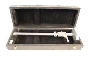 "Benson Verniers of Bradford HE18 vertical height gauge - 21"" height with box"