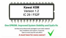Kawai K5m - Version 1.2 Firmware OS Upgrade Update Eprom for Synthesizer rack