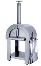 New Outdoor Stainless Steel Artisan Wood Fired Pizza Oven Grill