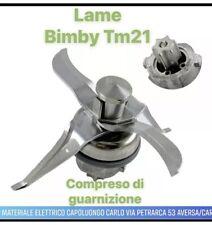 LAME BIMBY TM21 GRUPPO COLTELLI LAMA ADATTABILE TM 21 CONTEMPORA